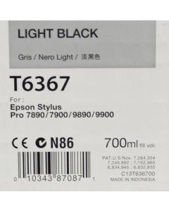EPSON T6367 (C13T636700) - Cartouche d'encre Gris - 700ml