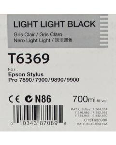 EPSON T6369 (C13T636900) - Cartouche d'encre Gris Clair - 700ml