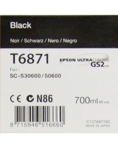 Encre Epson pour SureColor SC-S30600 / SC-S50600 -700ml :  Noir Photo