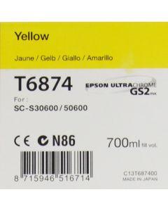 Encre Epson pour SureColor SC-S30600 / SC-S50600 -700ml  : Jaune