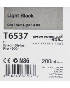 Epson T6537 (C13T653700) - Cartouche d'encre Gris 200ml