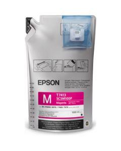 Encre Epson Ultrachrome pour SureColor SC-F6000 / F7000 - 1L : Magenta (C13T741300-1)