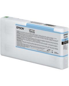 Encre Epson SC-P5000 : cartouche Cyan Clair T913 - 200ml (C13T913500)