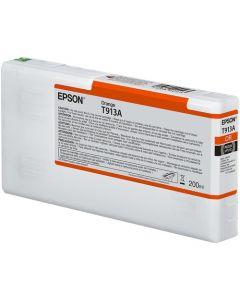 Encre Epson SC-P5000 : cartouche Orange T913 - 200ml (C13T913A00)