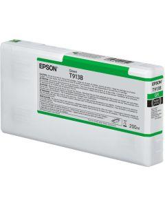 Encre Epson SC-P5000 : cartouche Vert T913 - 200ml (C13T913B00)