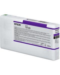 Encre Epson SC-P5000 : cartouche Violet T913 - 200ml (C13T913D00)