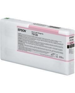 Encre Epson SC-P5000 : cartouche Vivid Magenta Clair T913 - 200ml (C13T913600)