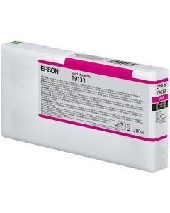 Encre Epson SC-P5000 : cartouche Vivid Magenta T913 - 200ml (C13T913300)