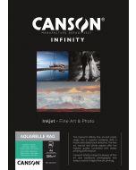 Papier Canson Infinity Aquarelle Rag 310g, A4 25 feuilles