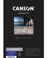 Papier Canson Infinity Platine Fibre Rag 310g, A3+ 25 feuilles