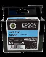 Encre Epson (25ml) pour SureColor P700 : Cyan Clair (T46S500)