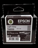 Encre Epson (25ml) pour SureColor P700 : Gris Clair (T46S900)