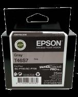 Encre Epson (25ml) pour SureColor P700 : Gris (T46S700)