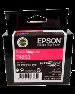Encre Epson (25ml) pour SureColor P700 : Magenta (T46S300)