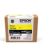 Cartouche d'encre Epson (50ml) pour SureColor P900 : Jaune - C13T47A400