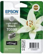 Encre Epson (Lys) pour Stylus Photo R2400 : gris clair