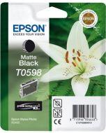 Encre Epson (Lys) pour Stylus Photo R2400 : noir mat