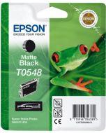Encre Epson T0548 (Grenouille) pour Stylus Photo R800 et R1800  : noir mat