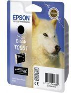 Encre Epson T0961 (Loup) pour Stylus Photo R2880 : noir