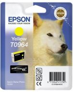 Encre Epson T0964 (Loup) pour Stylus Photo R2880 : jaune