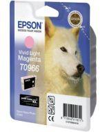 Encre Epson T0966 (Loup) pour Stylus Photo R2880 : magenta clair