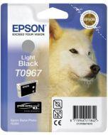 Encre Epson T0967 (Loup) pour Stylus Photo R2880 : gris