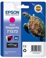 Encre Epson T1573 (Tortue) pour Stylus Photo R3000 : vivid magenta (C13T15734010)