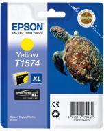Encre Epson T1574 (Tortue) pour Stylus Photo R3000 : jaune (C13T15744010)