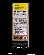 Encre Epson UltraChrome DS pour SC-F500 & SC-F100 : Jaune - 140ml