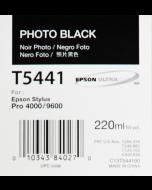 EPSON T5441 (C13T544100) : noir photo, 220ml