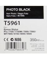 EPSON T5961 (C13T596100) - Cartouche d'encre Noire Photo 350ml