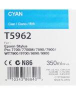 EPSON T5962 (C13T596200) - Cartouche d'encre Cyan 350ml