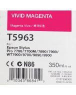 EPSON T5963 (C13T596300) - Cartouche d'encre Vivid Magenta 350ml