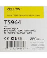 EPSON T5964 (C13T596400) - Cartouche d'encre Jaune 350ml