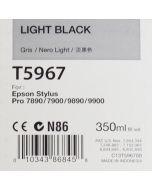 EPSON T5967 (C13T596700) - Cartouche d'encre Grise 350ml