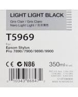 EPSON T5969 (C13T596900) - Cartouche d'encre Gris Clair 350ml