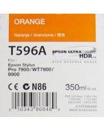 EPSON T596A (C13T596A00) - Cartouche d'encre Orange 350ml