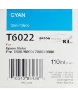 EPSON T6022 (C13T602200) - Cyan 110ml