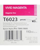 EPSON T6023 (C13T602300) - Vivid Magenta 110ml