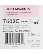 EPSON T602C (C13T602C00) - Magenta Clair 110ml