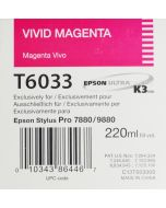 EPSON T6033 (C13T603300) - Vivid Magenta 220ml