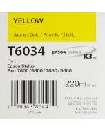 EPSON T6034 (C13T603400) - Jaune 220ml