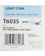 EPSON T6035 (C13T603500) - Cyan Clair 220ml