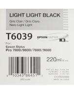 EPSON T6039 (C13T603900) - Gris Clair 220ml