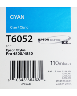 EPSON T6052 (C13T605200) - Cyan 110ml