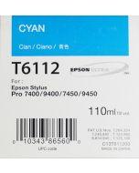 EPSON T6112 (C13T611200) - Pigment Cyan 110ml