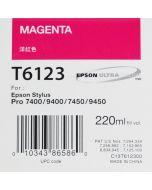 EPSON T6123 (C13T612300) - Pigment Magenta 220ml