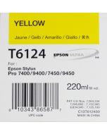 EPSON T6124 (C13T612400) - Pigment Jaune 220ml