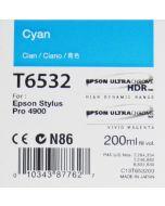 Epson T6532 (C13T653200) - Cartouche d'encre Cyan 200ml