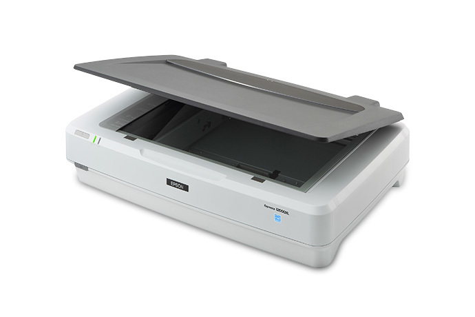 scanner Epson 12000XL avec l'option lecteur de film transparent
